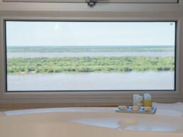 Hotel Maran Suites & Towers habitación presidencial vista baño río Paraná
